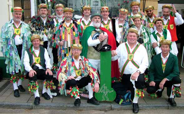 Wessex Morris Men group photograph